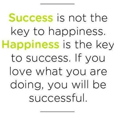 happiness is success essay