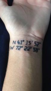Ali's tattoo