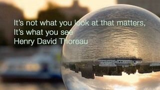 intrigue verse thoreau quote